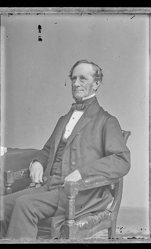 Daniel Phoenix Ingraham. Sitter: Daniel Phoenix Ingraham, 1800? – 1881. Date: 1860s. Record ID: npg_NPG.81.M3740.2.