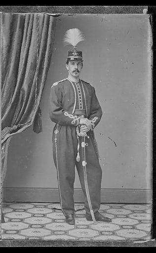Rush C. Hawkins. Sitter: Rush Christopher Hawkins, 14 Sep 1831 – 20 Oct 1920. Date: 1880s. Record ID: npg_NPG.81.M3742.2.