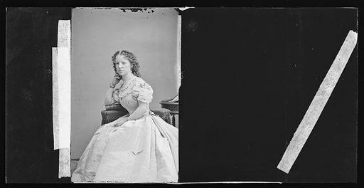 Maggie Mitchell. Sitter: Maggie Mitchell, 14 Jun 1837 – 22 Mar 1918. Date: 1860s. Record ID: npg_NPG.81.M3795.