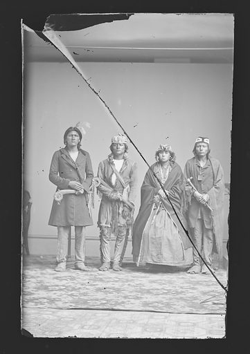 Indian Group. Date: 1860s. Record ID: npg_NPG.81.M3855.