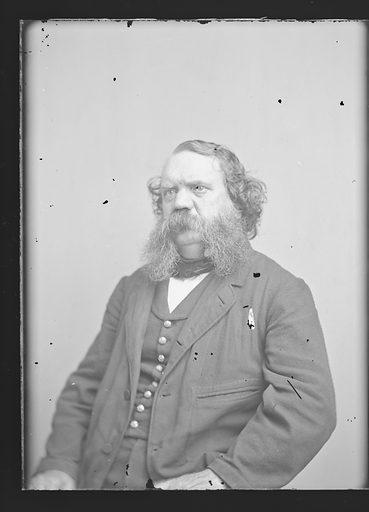 Thomas B. Thorpe. Sitter: Thomas Bangs Thorpe, 1815 – 1878. Date: 1860s. Record ID: npg_NPG.81.M3862.1.