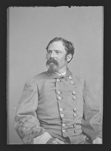 Thomas P. Ochiltree. Sitter: Thomas Peck Ochiltree, 1837 – 1902. Date: 1880s. Record ID: npg_NPG.81.M3873.