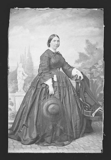 Jessie Benton Fremont. Sitter: Jessie Benton Frémont, 31 May 1824 – 27 Dec 1902. Date: 1850s. Record ID: npg_NPG.81.M95.