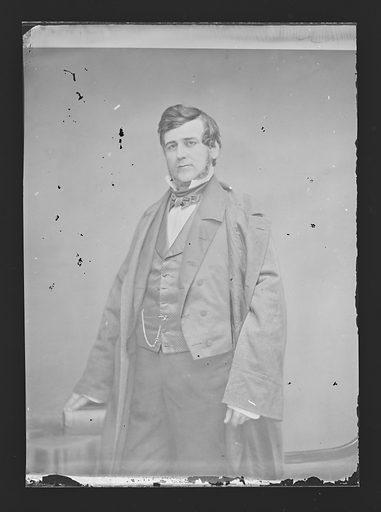 James Gabriel Berret. Sitter: James Gabriel Berret, 12 Feb 1815 – 14 Apr 1901. Date: 1860s. Record ID: npg_NPG.81.M3897.