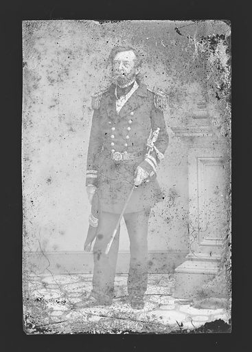 Andrew H. Foote. Sitter: Andrew Hull Foote, 12 Sep 1806 – 26 Jun 1863. Date: 1860s. Record ID: npg_NPG.81.M3904.
