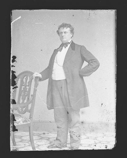 John A. Andrew. Sitter: John Albion Andrew, 31 May 1818 – 30 Oct 1867. Date: 1860s. Record ID: npg_NPG.81.M3907.