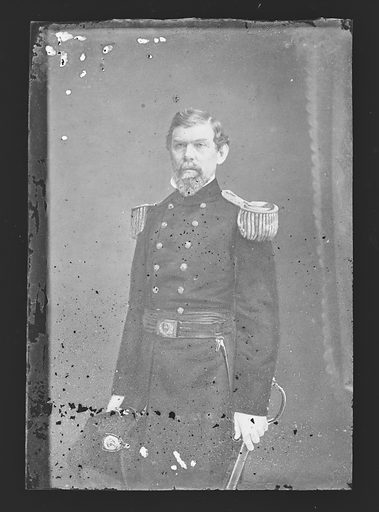 William J. Hardee. Sitter: William Joseph Hardee, 12 Oct 1815 – 6 Nov 1873. Date: 1880s. Record ID: npg_NPG.81.M3919.