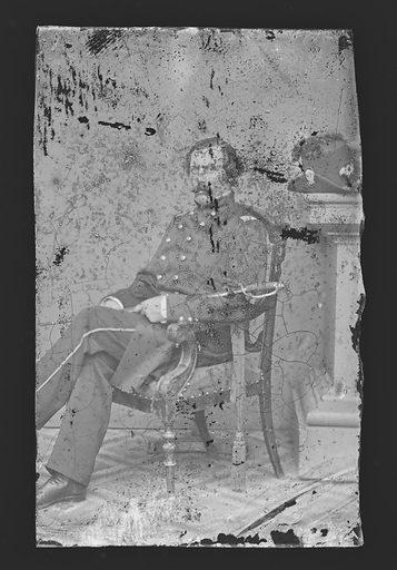 Ward Hill Lamon. Sitter: Ward Hill Lamon, 1828 – 1893. Date: 1860s. Record ID: npg_NPG.81.M3965.