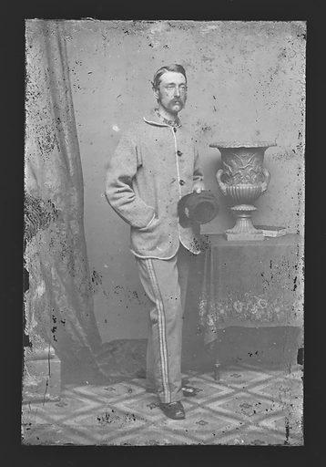 Marshall Lefferts. Sitter: Marshall Lefferts, 1821 – 1876. Date: 1860s. Record ID: npg_NPG.81.M3971.