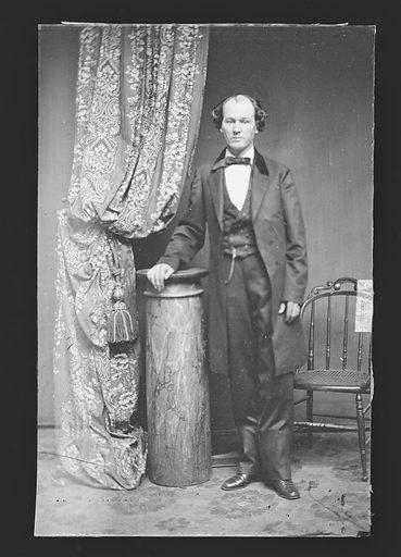 Isham G. Harris. Sitter: Isham Green Harris, 10 Feb 1818 – 8 Jul 1897. Date: 1880s. Record ID: npg_NPG.81.M3975.