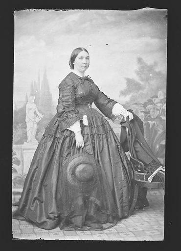 Jessie Benton Fremont. Sitter: Jessie Benton Frémont, 31 May 1824 – 27 Dec 1902. Date: 1850s. Record ID: npg_NPG.81.M3980.