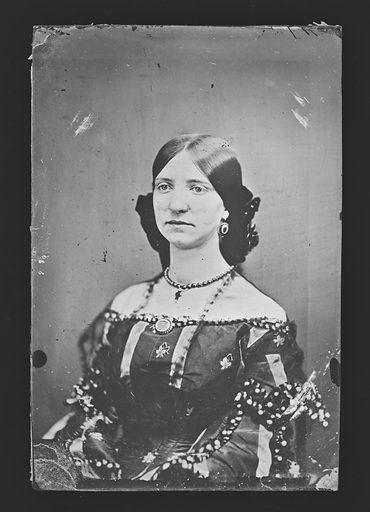Possibly Miss Emma Brownlow. Date: 1860s. Record ID: npg_NPG.81.M3982.