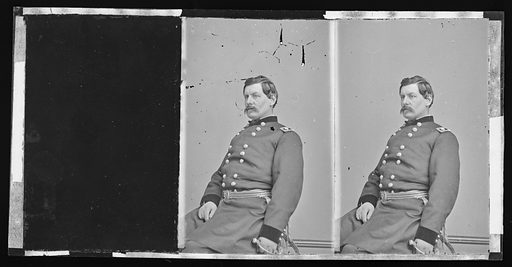 George Brinton McClellan. Sitter: George Brinton McClellan, 3 Dec 1826 – 29 Oct 1885. Date: 1860s. Record ID: npg_NPG.81.M4004.2.