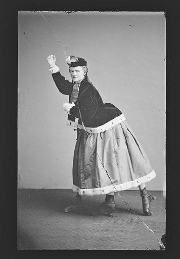 Roller Skater. Date: 1860s. Record ID: npg_NPG.81.M4028.