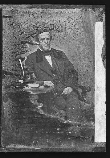 Lyman Trumbull. Sitter: Lyman Trumbull, 12 Oct 1813 – 25 Jun 1896. Date: 1860s. Record ID: npg_NPG.81.M4033.
