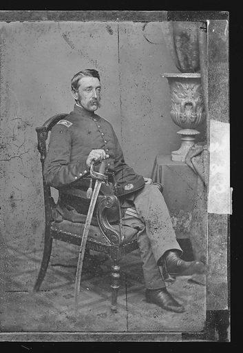 Marshall Lefferts. Sitter: Marshall Lefferts, 1821 – 1876. Date: 1860s. Record ID: npg_NPG.81.M4035.2.