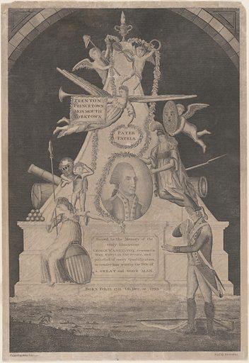 George Washington. Sitter: George Washington, 22 Feb 1732 – 14 Dec 1799. Date: 1800s. Record ID: npg_NPG.97.163.