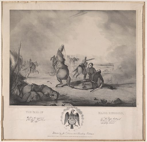 The Fall of Major Ringgold. Sitter: Samuel Ringgold, 1796 – 11 May 1846. Date: 1840s. Record ID: npg_NPG.97.18.