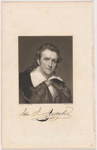 John James Audubon. Sitter: John James Audubon, 26 Apr 1785 – 27 Jan 1851. Date: 1830s. Record ID: npg_NPG.98.9.