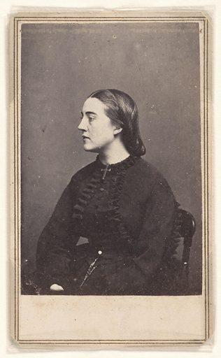 Adele Cutts Douglas. Sitter: Adele Cutts Douglas, 1835 – 1899. Date: 1850s. Record ID: npg_S_NPG.79.246.164.
