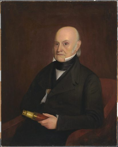 John Quincy Adams. Sitter: John Quincy Adams, 11 Jul 1767 – 23 Feb 1848. Date: 1840s. Record ID: npg_NPG.99.1.