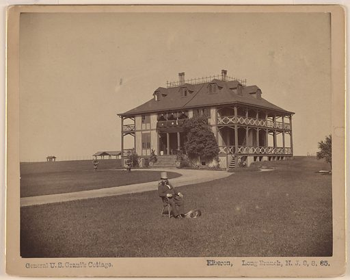 The Cottage of Ulysses S. Grant. Date: 1850s. Record ID: npg_AD_NPG.77.18.