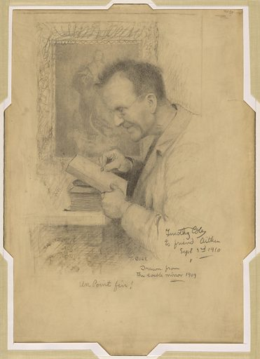 Timothy Cole Self-Portrait. Sitter: Timothy Cole, 1852 – 1931. Date: 1900s. Record ID: npg_NPG.98.140.
