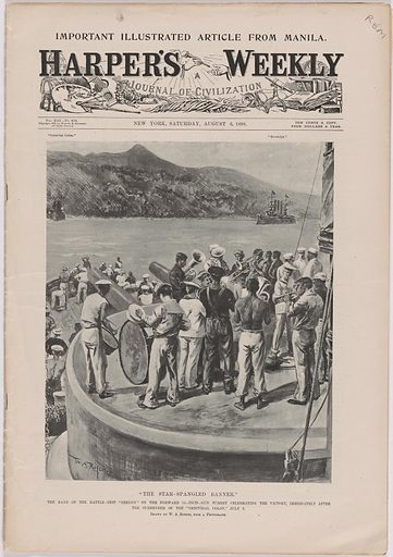 The Storming of San Juan. Date: 1890s. Record ID: npg_AD_NPG.77.6.
