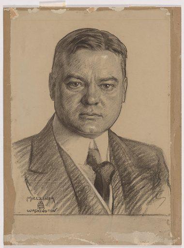 Herbert Hoover. Sitter: Herbert Clark Hoover, 10 Aug 1874 – 20 Oct 1964. Date: 1910s. Record ID: npg_NPG.98.128.