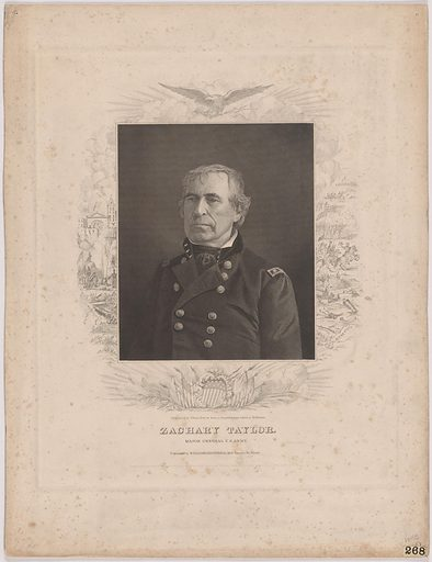 Zachary Taylor. Sitter: Zachary Taylor, 24 Nov 1784 – 9 Jul 1850. Date: 1840s. Record ID: npg_NPG.97.193.