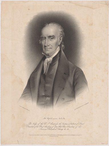 Joseph Hopkinson. Sitter: Joseph Hopkinson, 12 Nov 1770 – 15 Jan 1842. Date: 1840s. Record ID: npg_NPG.99.27.