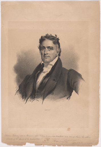 Horace Binney. Sitter: Horace Binney, 1780 – 1875. Date: 1820s. Record ID: npg_S_NPG.99.30.