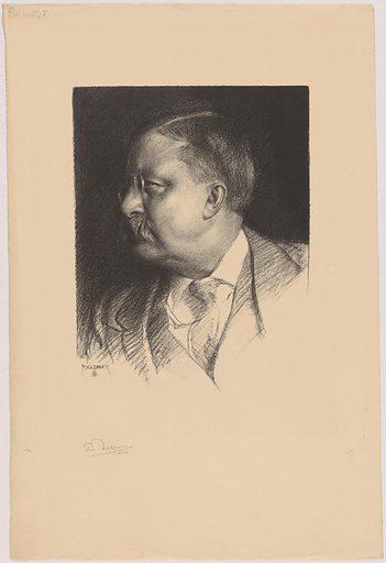 Theodore Roosevelt. Sitter: Theodore Roosevelt, 27 Oct 1858 – 6 Jan 1919. Date: 1910s. Record ID: npg_NPG.99.32.