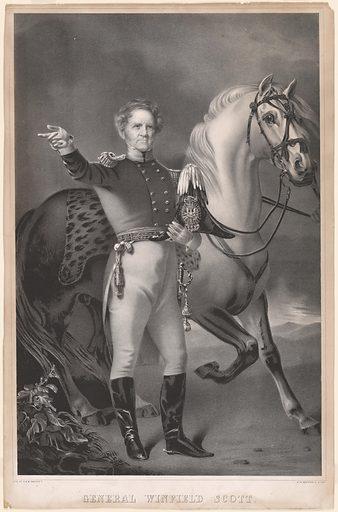 General Winfield Scott. Sitter: Winfield Scott, 13 Jun 1786 – 29 May 1866. Date: 1840s. Record ID: npg_NPG.99.33.