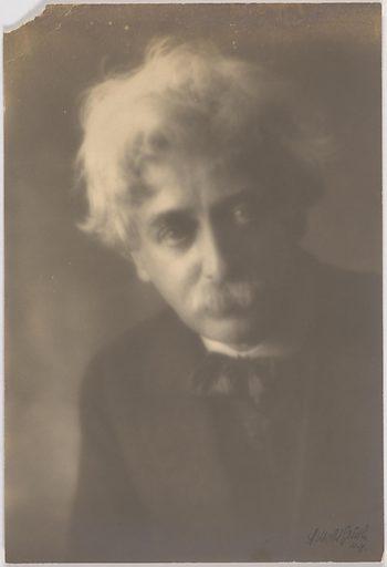 Horace Traubel. Sitter: Horace L. Traubel, 19 Dec 1858 – 8 Sep 1919. Date: 1910s. Record ID: npg_S_NPG.97.236.