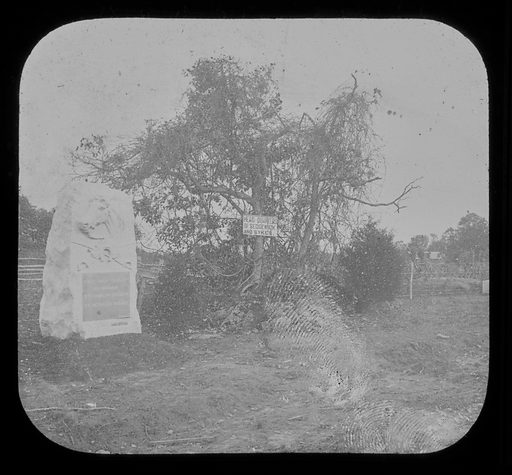 Pennsylvania -- Gettysburg, 1st Massachusetts Cavalry and Sedgwick's Headquarters. Date: 1860s. Record ID: npg_AD_NPG.95.2.11.