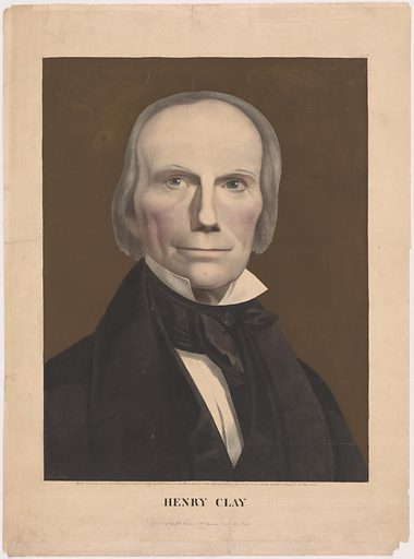 Henry Clay. Sitter: Henry Clay, 12 Apr 1777 – 29 Jun 1852. Date: 1840s. Record ID: npg_NPG.99.89.