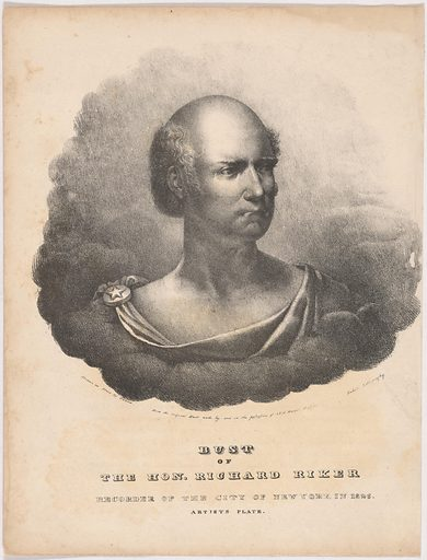 Richard Riker. Sitter: Richard Riker, 1773 – 1842. Date: 1820s. Record ID: npg_NPG.99.97.