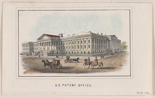 U.S. Patent Office. Date: 1850s. Record ID: npg_NPG.POB12.