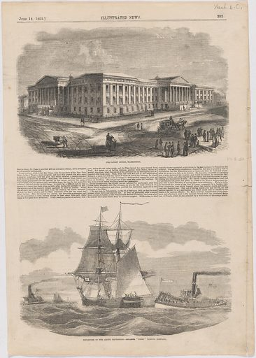 The Patent Office, Washington. Date: 1850s. Record ID: npg_NPG.POB30.