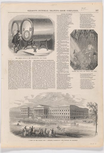 A View of the Patent Office Building. Date: 1850s. Record ID: npg_NPG.POB31.
