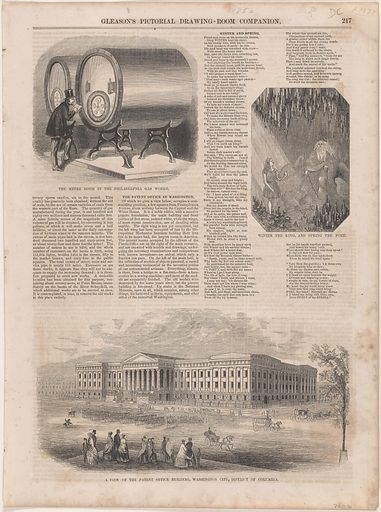 A View of the Patent Office Building. Date: 1850s. Record ID: npg_NPG.POB3.