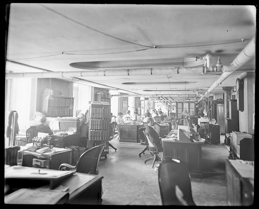 Patent Office. Date: 1900s. Record ID: npg_NPG.POB106.