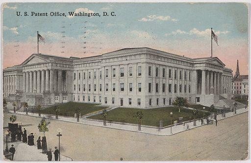 U.S. Patent Office, Washington, D.C. Date: 1920s. Record ID: npg_NPG.POB124.