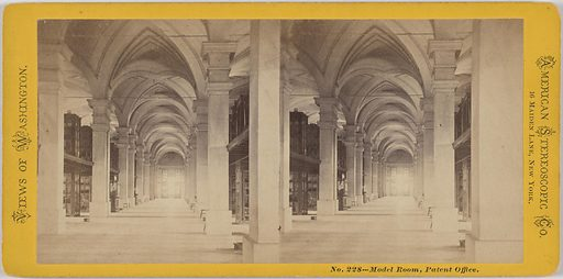 Model Room, Patent Office. Date: 1850s. Record ID: npg_NPG.POB131.