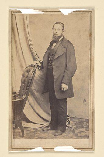 Domingo Ghirardelli. Sitter: Domingo Ghirardelli, 21 Feb 1817 – 17 Jan 1894. Date: 1850s. Record ID: npg_NPG.2000.12.
