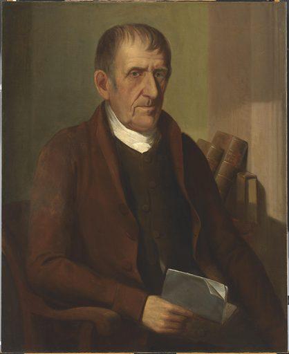 Elisha Tyson. Sitter: Elisha Tyson, 1749 – 16 Feb 1824. Date: 1820s. Record ID: npg_NPG.2001.12.