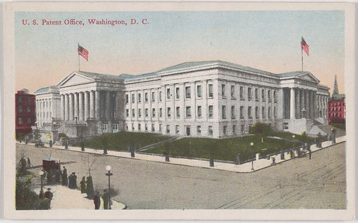 U. S. Patent Office, Washington, D. C. Date: 1920s. Record ID: npg_NPG.POB141.