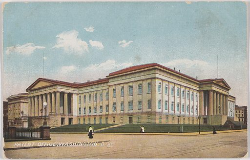 Patent Office, Washington, D. C. Date: 1910s. Record ID: npg_NPG.POB148.