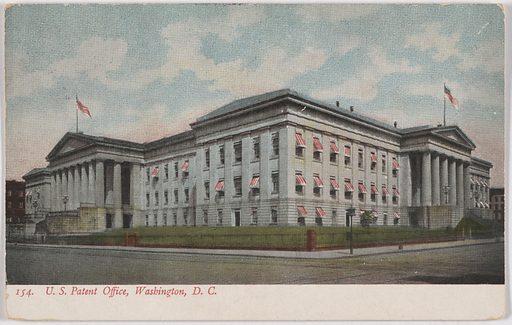 U. S. Patent Office, Washington, D. C. Date: 1910s. Record ID: npg_NPG.POB149.